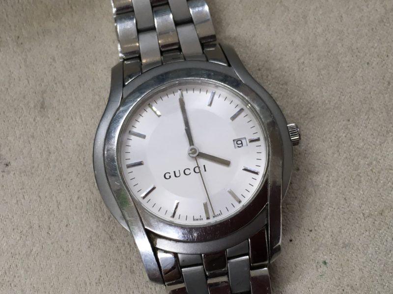 GUCCI5500XL 電池交換
