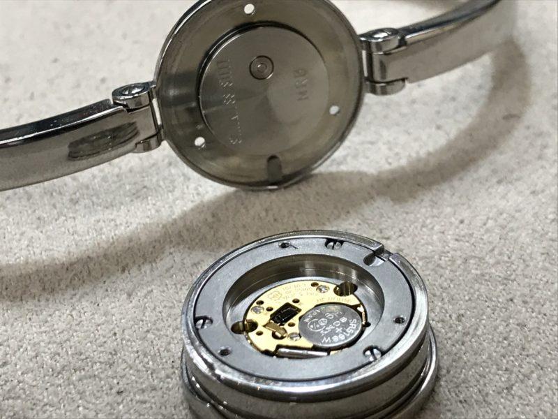 ブルガリの腕時計の電池交換_BVLGARI