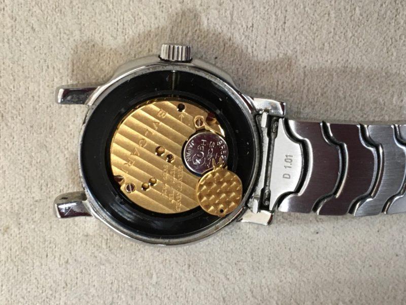 ブルガリ 電池交換 ソロテンポ ST29BSSD 腕時計