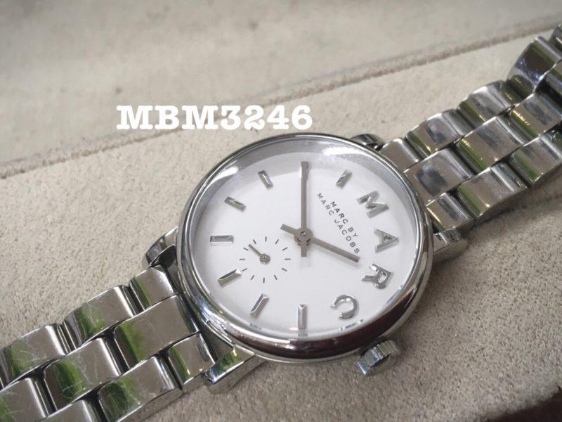 腕時計の電池交換 マークジェイコブス MBM3246 RONDA1064
