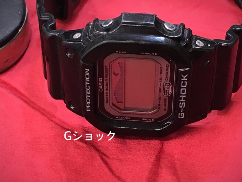 G-SHOCK G- LIDE 電池交換 GLX-5600 山梨県
