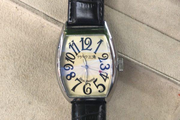 フランク三浦の腕時計電池交換
