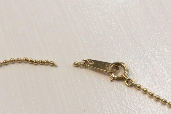 K18ダイヤモンドネックレスが切れてしまったら⁇