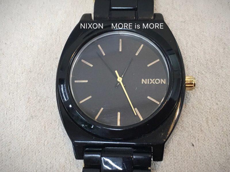 ニクソン MORE is MORE 電池交