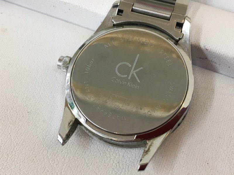 カルバンクライン CK 腕時計 裏ブタ 電池交換
