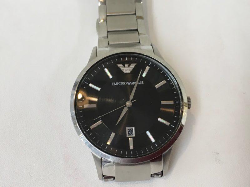 エンポリオアルマーニ 腕時計 電池交換 AR2457