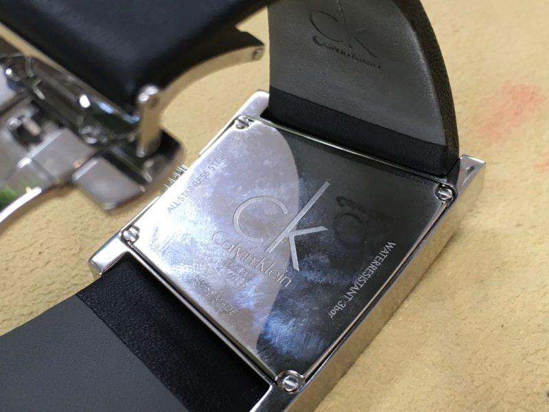 カルバンクライン CK 腕時計 電池交換 ETA