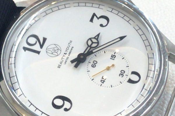BEAUTY&YOUTHの腕時計の電池交換すぐ出来ます。