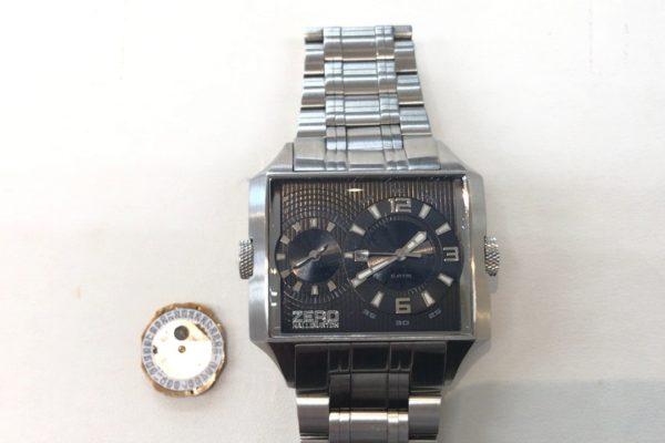 ゼロハリバートンの腕時計の修理