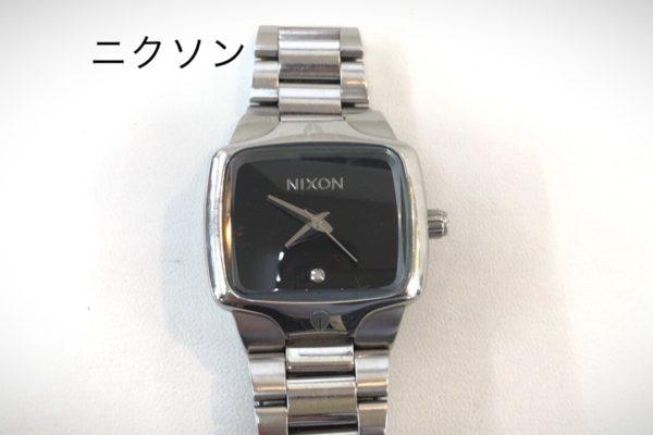 ニクソンの腕時計電池交換を承りました。