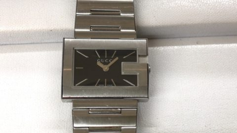 GUCCIの腕時計の電池交換