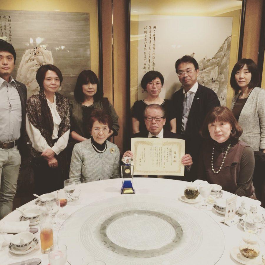 重慶飯店で食事