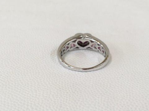 指輪のロジウムメッキ_修理
