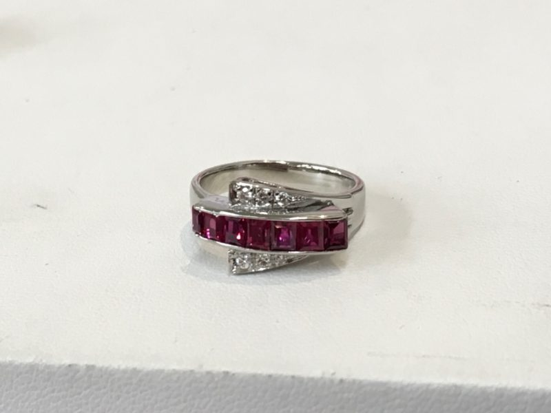 ルビーの指輪の修理