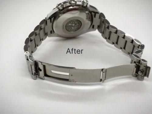 オメガ腕時計ベルトの修理