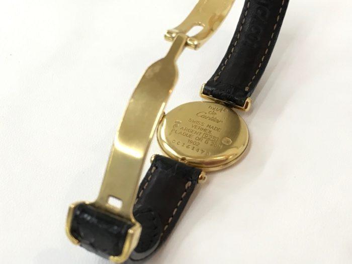 カルティエ腕時計の電池交換