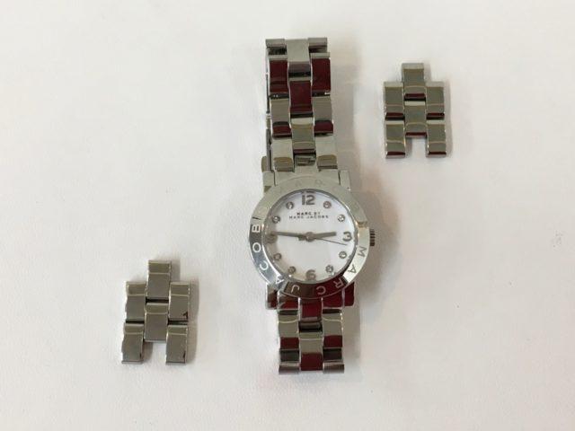 マークジェイコブスの腕時計のベルト修理