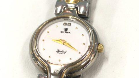 CYMA腕時計のガラス交換