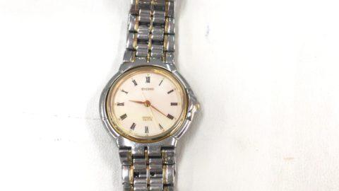 シチズンの腕時計のエクシードの修理