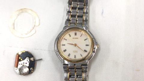 シチズン腕時計の修理