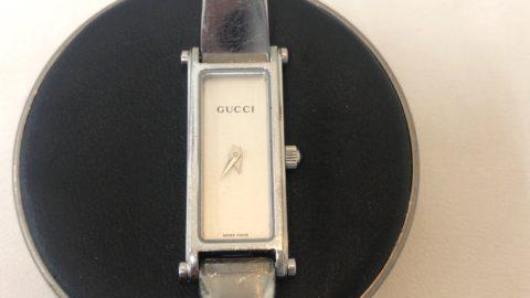 GUCCI の腕時計の修理