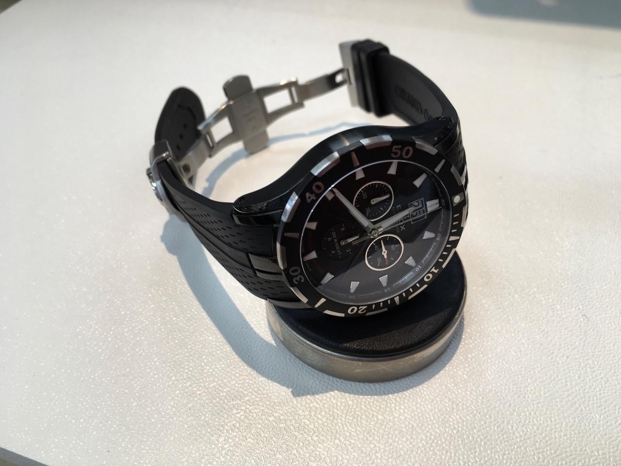 EDOX エドックス 腕時計 電池交換 山梨県 都留市