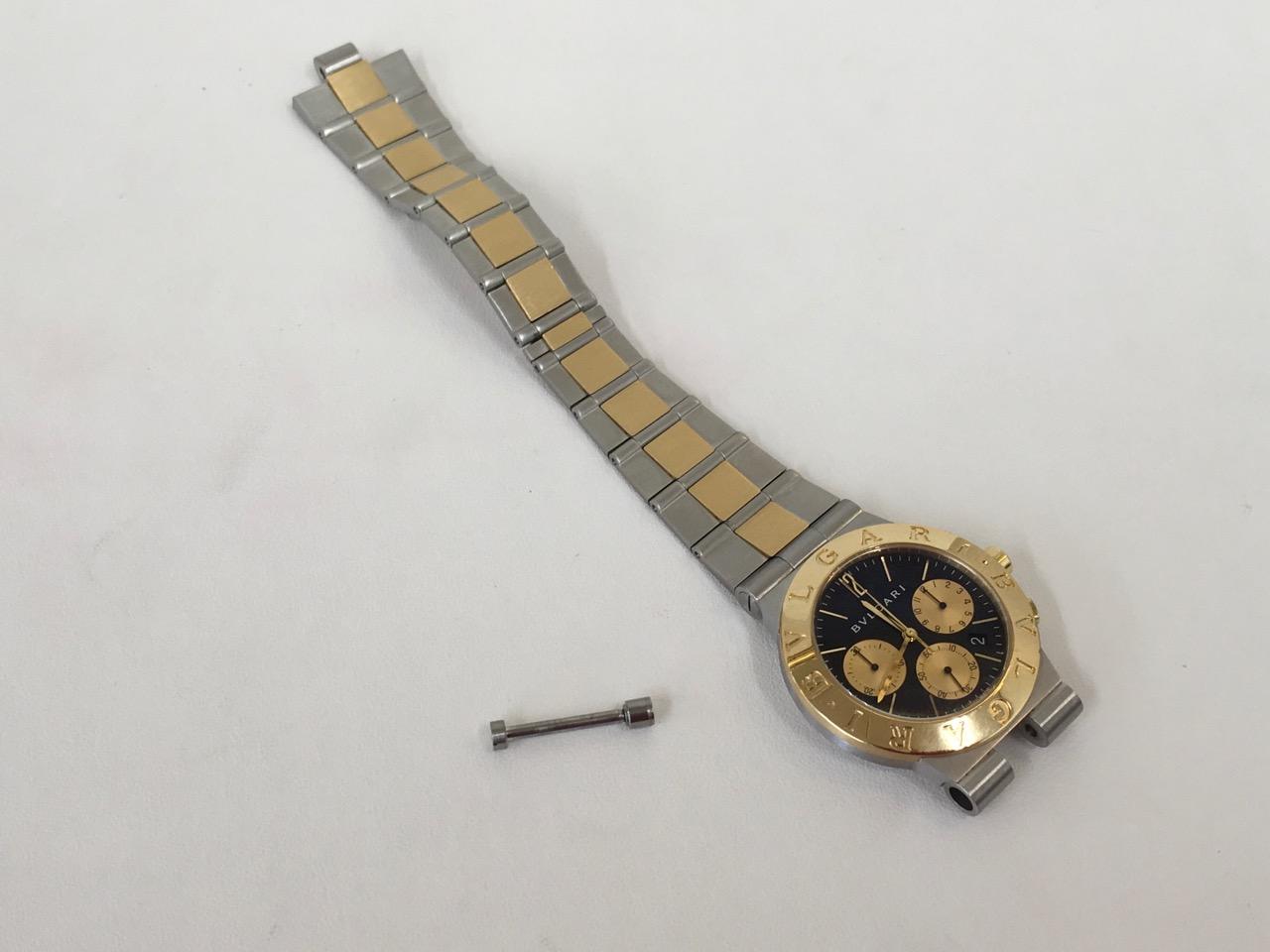 BVLGARI ブルガリ 腕時計 修理 ベルト交換 金額