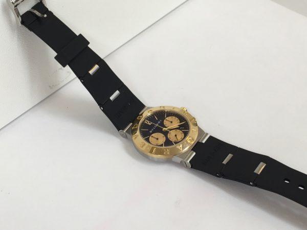 BVLGARI ブルガリ 腕時計 ベルト交換 ラバーベルト ネジが回らない
