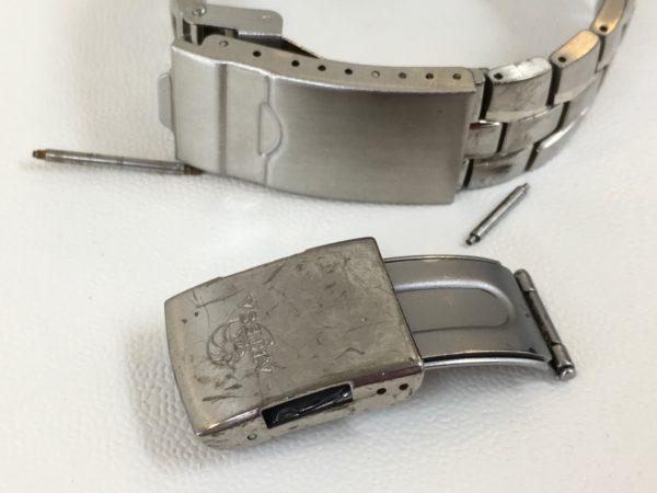 シチズン CITIZEN 腕時計 ベルト修理 中留交換 山梨県