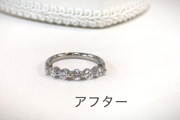 お母様からお嫁さんへ指輪を想いが受け継がれていくジュエリー