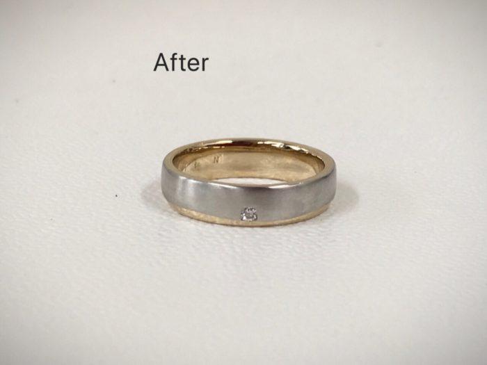 結婚指輪 マリッジリング クリーニング 新品仕上げ プラチナリング 修理 山梨県