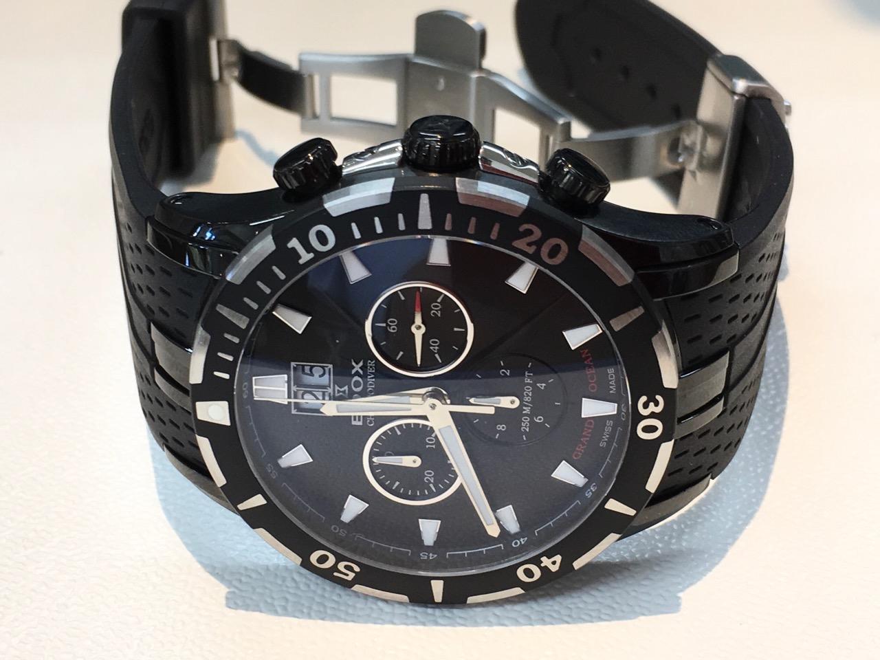 エドックス 腕時計 電池交換 クォーツ