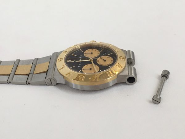 BVLGARI ブルガリ 腕時計 修理 ベルト交換