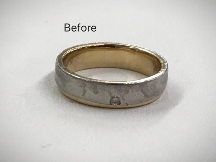 結婚指輪 マリッジリング 新品仕上げ つや消し 修理 クリーニング