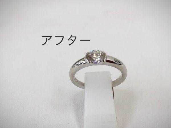 ビフォーアフター 指輪の作り替え ジュエリーリフォーム