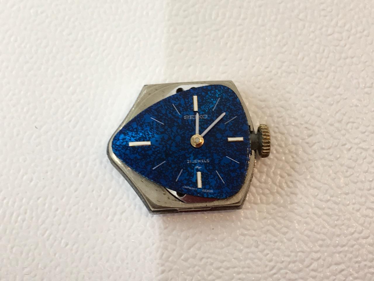 SEIKO セイコー 手巻き腕時計 分解掃除 オーバーホール 修理