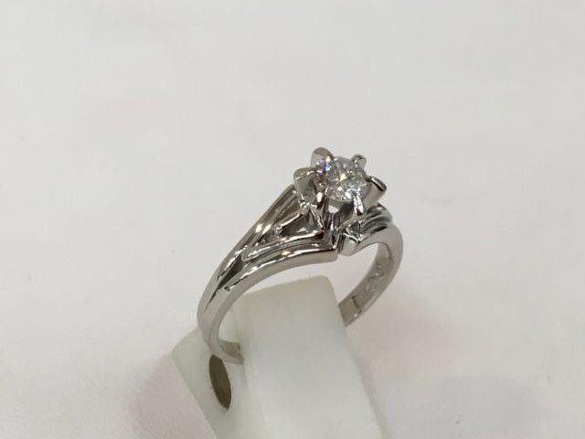 昔のデザインの指輪 作り替え リフォーム ジュエリー 山梨県