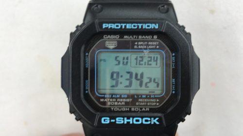 Gショック ガラス交換 修理 腕時計ガラス
