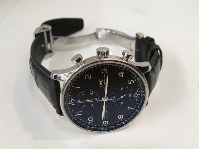 IWC 腕時計 革ベルト