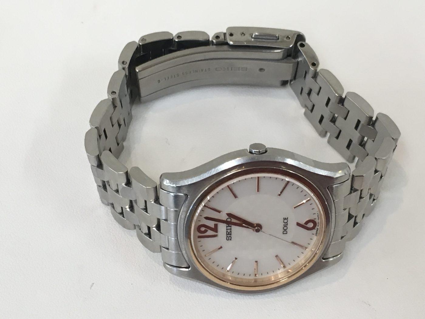 SEIKO DOLCE 腕時計 バンド修理 山梨県 ドルチェ