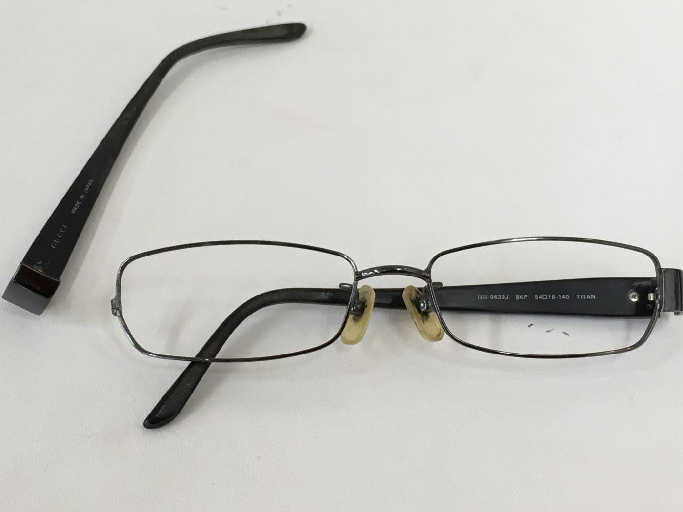 眼鏡の修理 眼鏡フレーム 山梨県 富士河口湖町