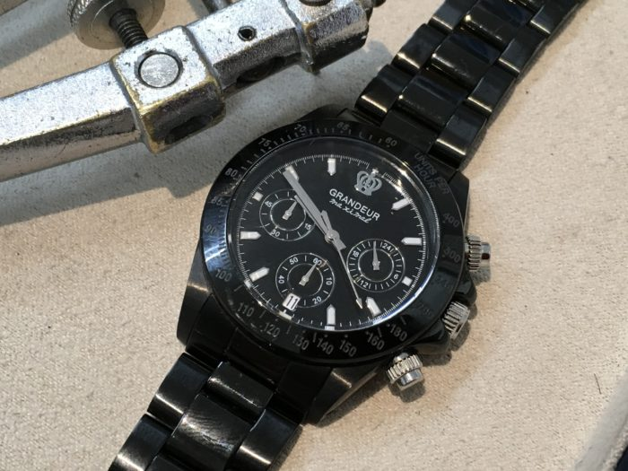 GRANDEUR グランジュール 腕時計 裏ブタ オープナー 電池交換