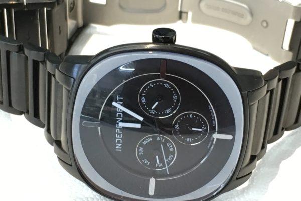 本日の腕時計電池交換の一部、INDEPENDENT,TOMMY HILFIGERやカルティエなど。
