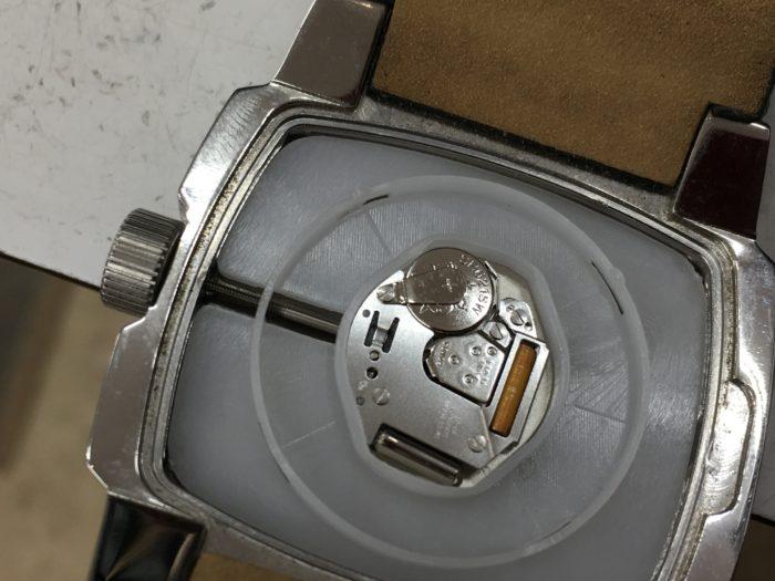 ディーゼル DIESEL 腕時計 電池交換 ムーブメント
