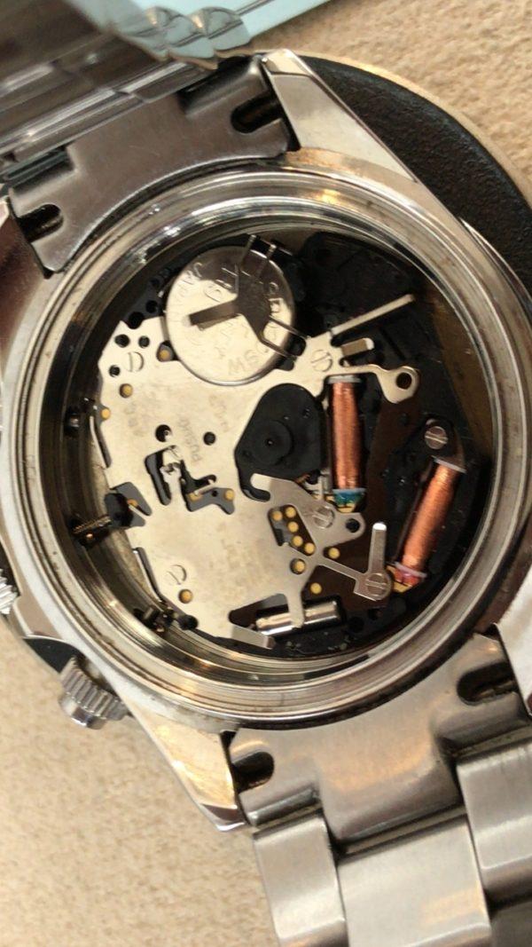 テクノス 腕時計 電池交換 山梨県