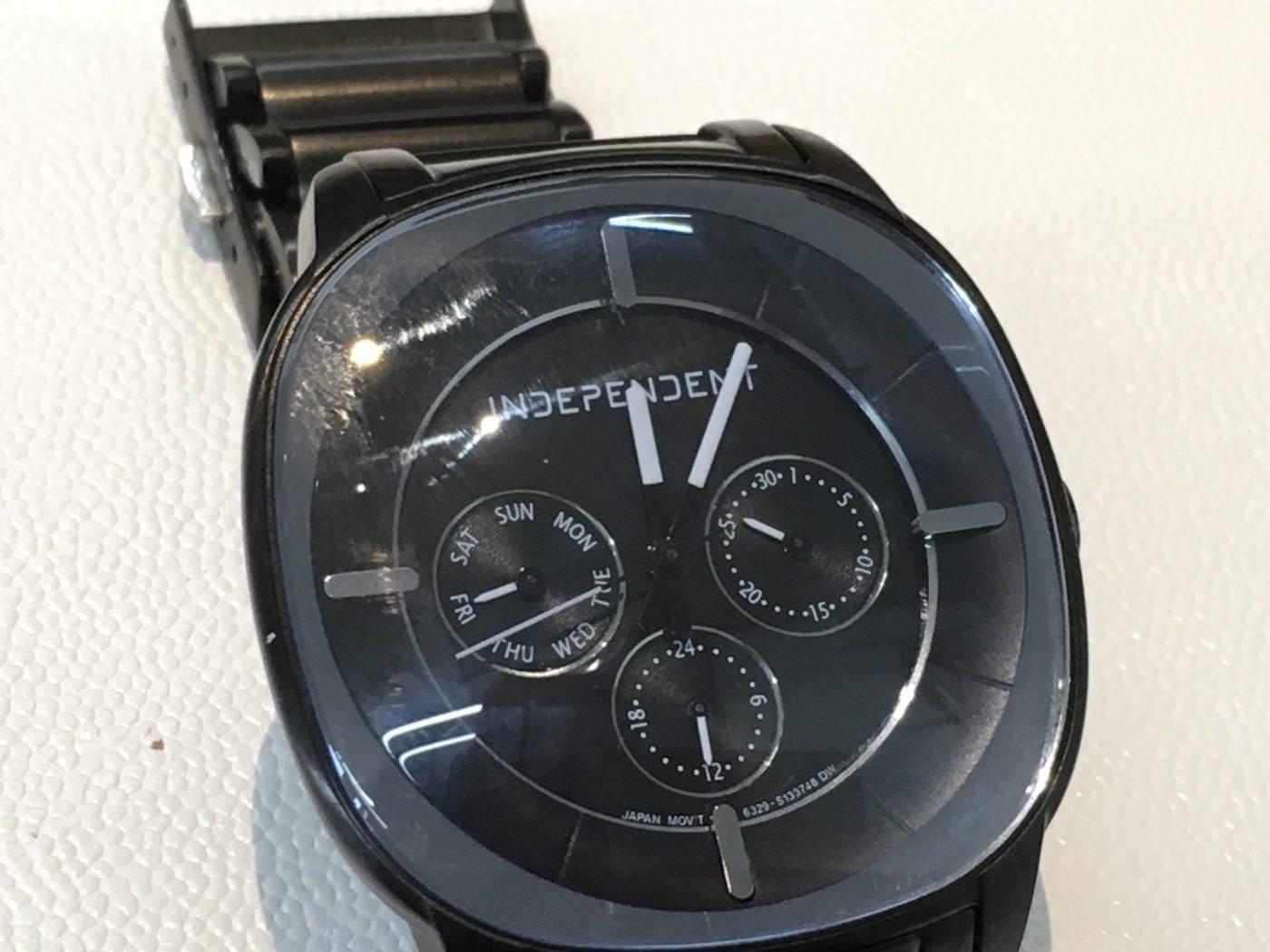 インディペンデント 腕時計 電池交換
