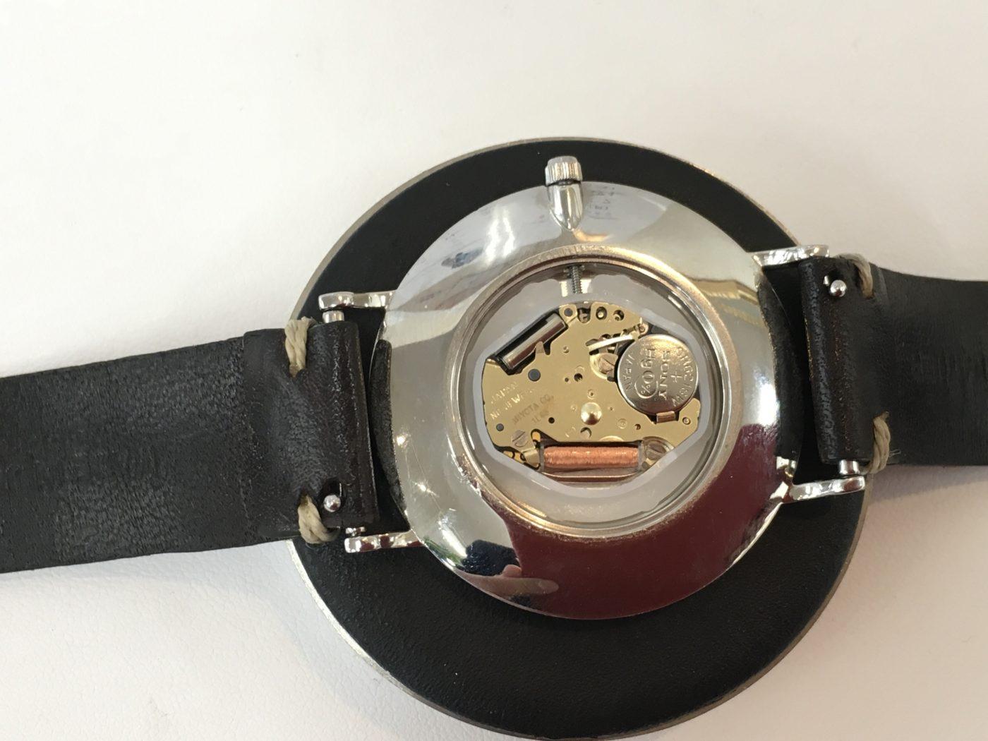 Knot 腕時計 電池交換 MIYOTA 1L45 オプトナカムラ