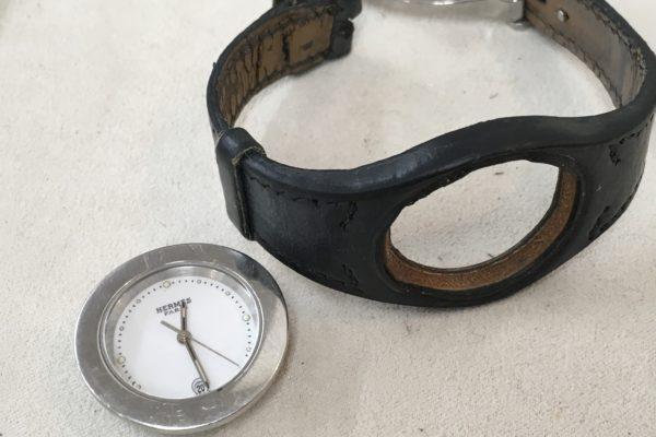 エルメス アーネ&クリッパーの腕時計電池交換