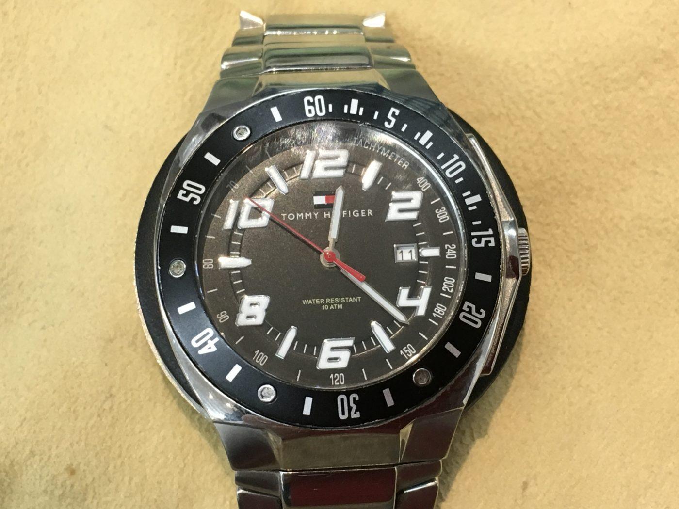 TOMMY HILFIGER 腕時計 電池交換 山梨県