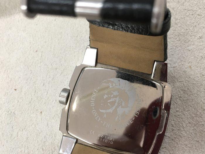 DIESEL ディーゼル 腕時計 電池交換